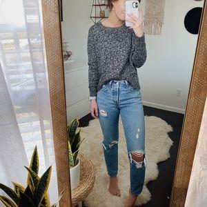 AE Gray Crewneck Sweater